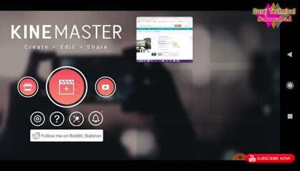 Kinemaster Edit video   MP3 को वीडियो कैसे बनाएं वह भी काइन मास्टर ऐप्स से !