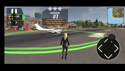 Airplane Flight Pilot Simulator _ Android Gameplay