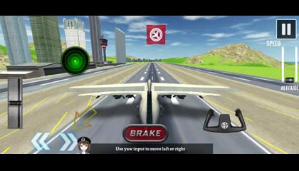 Airplane Fly 3D _ Flight Plane _ Android Gameplay