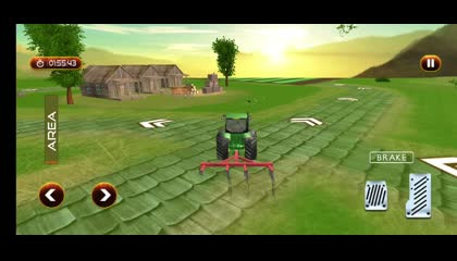 Big Farming Tractor Drive 3D _ Android Gameplay