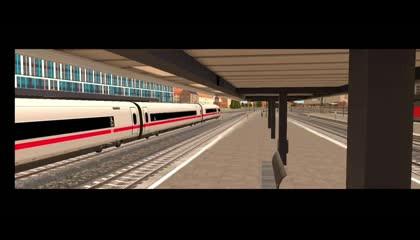 Euro Train Simulator 2 _ Android Gameplay