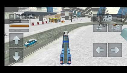 Euro Truck Driving Simulator _ Android Gameplay
