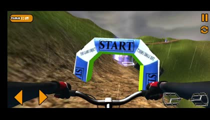 MTB Downhill_ BMX Racer _ Android Gameplay