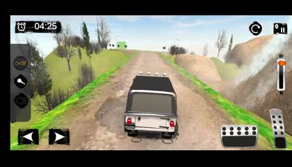 Offroad Police Jeep 4x4 Driving & Racing Simulator _ Android Gameplay