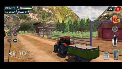 Offroad Tractor Farming Simulator 2018 _ Android Gameplay