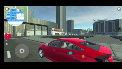 Car Simulator Civic_ City Driving _ Android Gameplay