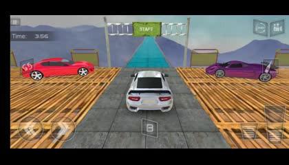 Car Stunt Car Games_ Mega Ramp _ Android Gameplay