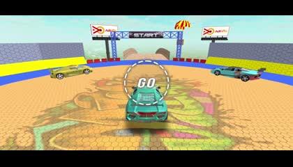 Mega Ramp Car Stunt Game 2021_ Race Car Stunts 3D _ Android Gameplay