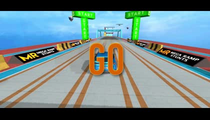 Mega Ramp Stunts – New Car Racing Games 2021 _ Android Gameplay