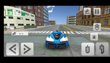 Police Crime Simulator - Police Car Driving _ Android Gameplay