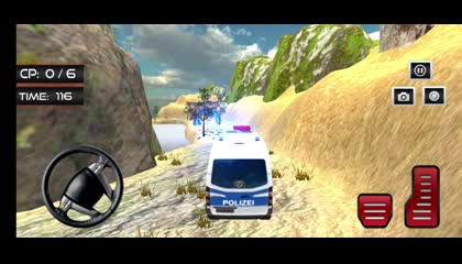 Police Van Driving - New Police Bus Simulator Game _ Android Gameplay