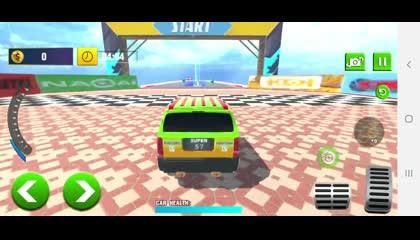 Prado Car Stunt Games_ Mega Ramp Stunt Car Game _ Android Gameplay