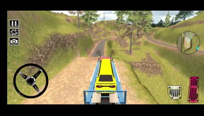 Car Carrier Truck Cargo Truck Simulator Game _ Android Gameplay