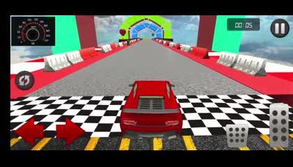 Car Stunt Racing Games-Mega Ramp Car Stunt Driving _ Android Gameplay