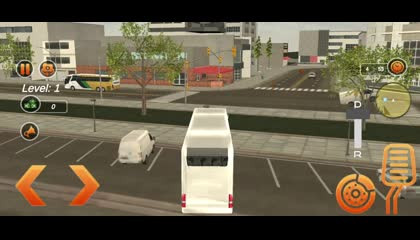 Coach Bus 3D Simulator- Public Bus Driving _ Android Gameplay