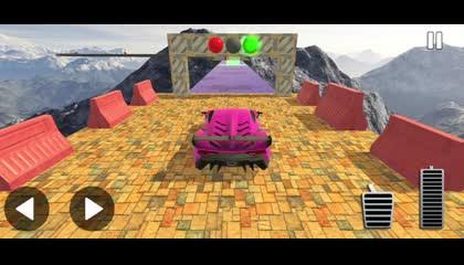 Mega Ramp Car Games 2021 New Car Racing Stunts 3d _ Android Gameplay