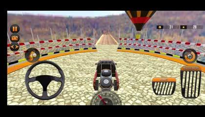 Mega Ramp Car Stunts - Impossible Stunt Car Games _ Android Gameplay