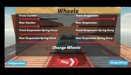Mega Ramp Stunts Car Racer Track _ Android Gameplay
