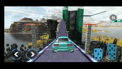 Speed Hero Mega Ramp Car GT Racing Stunts Games _ Android Gameplay