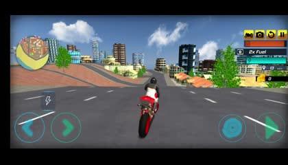Super Stunt Hero Bike Simulator 3D _ Android Gameplay