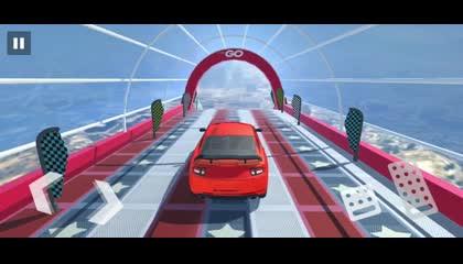 Superhero Games - Mega Ramp _ Android Gameplay