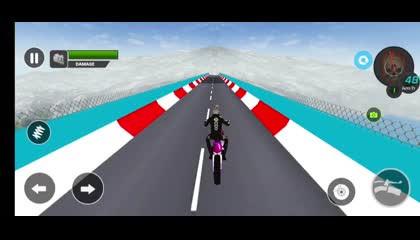 Superhero mega ramp gt bike racing 2021 _ Android Gameplay
