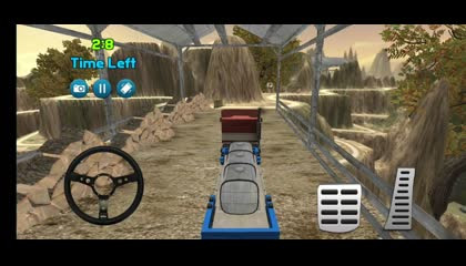 Truck Simulator hill Cargo Driving _ Android Gameplay