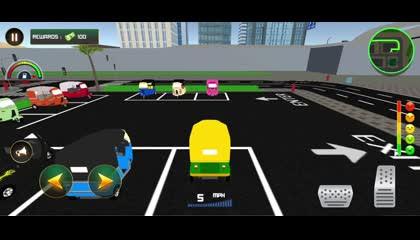 Tuk Tuk Auto Rickshaw_ Driving Simulator Game _ Android Gameplay