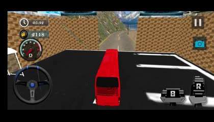 Uphill Off Road Bus Driving Simulator - Bus Games _ Android Gameplay