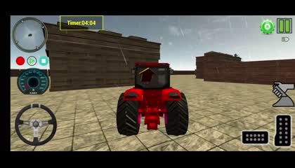 Village Tractor Drive 2021-Farm Offroad Sim Games _ Android Gameplay