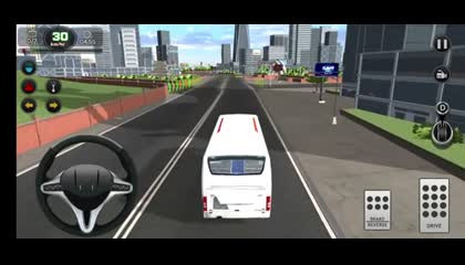 3D Tourist City Bus Racing Game Bus Parking Games  Android Gameplay