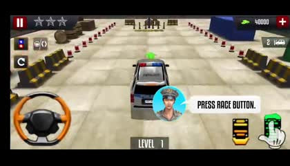 Advance Police Parking New Games 2021  Car games  Android Gameplay