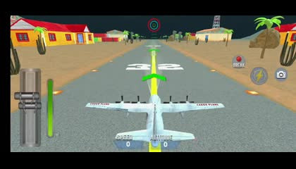 Airplane Pilot Car Transporter Airplane Simulator  Android Gameplay