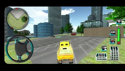 American Cargo Truck Game  New Driving Simulator  Android Gameplay