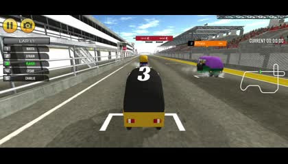 Auto Game  Tuk Tuk Auto Rickshaw Racing Game  Android Gameplay