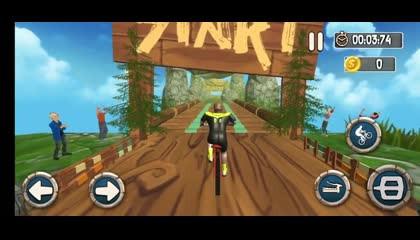 BMX Bicycle Racing Stunts 3D Mega Ramp Cycle Games  Android Gameplay