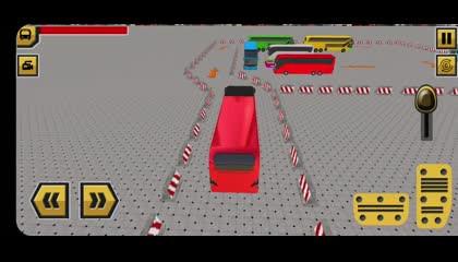 Bus Parking Games 21  Modern Bus Game Simulator  Android Gameplay
