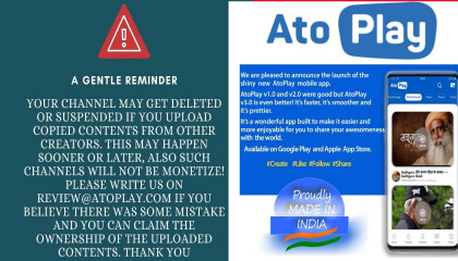 Atoplay Urgent Reminder | atoplay new update | atoplay new policy