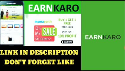 earn karo free offer,  earn karo aap new update, Kumar shailendra official