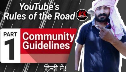 YouTube warning strike  Community Guideline Strike Remove