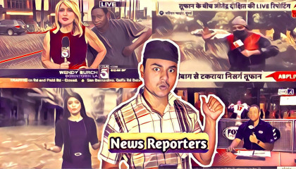 Epic moment of news reporting l Roast on absurd content l  Ajaj Ahmed l