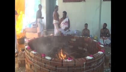 tindivanam vasanthapuram periyava patasalai chandi homam 14 10 21   part 5