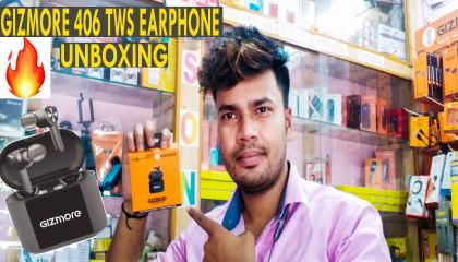 Gizmore TWS 406 Earphone || Gizmore bluetooth earphone || Gizmore tws || Gizmore
