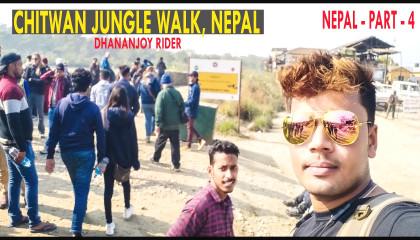Chitwan Jungle Walk, Nepal || Chitwan Nepal || Chitwan tourist Jungle walk #nepal part 4
