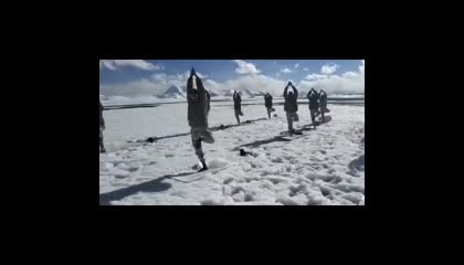 Indian Army at -20°