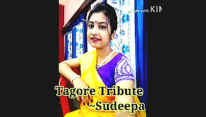 A tribute to tagore