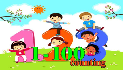 1 to 100 Numbers Count for learn | with song