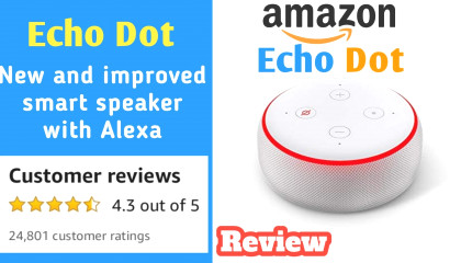 Amazon Echo Dot (3rd Gen) New and improved smart speaker with Alexa Review