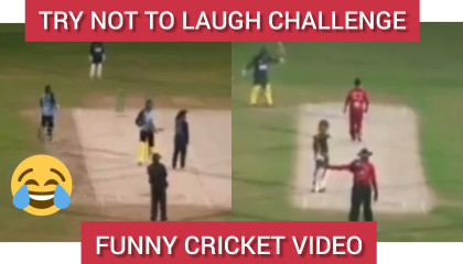Funny cricket video   Try not to laugh