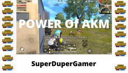 POWER Of AKM | PUBG Mobile Lite | ACE Tier